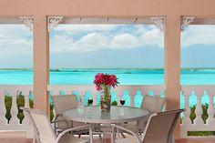 The view!  Emerald Shores Estate in Chalk Sound Providenciales, Turks & Caicos.