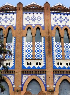 Plaza de Toros Monumental  1913  Architects: Manuel Joaquim Raspall i Mayol & Domènec Sugrañes i Gras