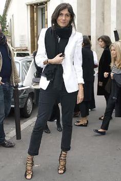 black & white Alt-titude. Paris. #EmmanuelleAlt
