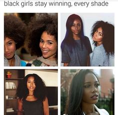 Seeing this type of shit is so annoying. Every color is beautiful. The black race needs to get off their high horse and realize that they're the main ones discriminating
