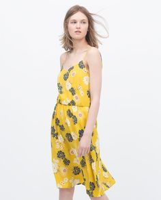 don't really like dress style for me but i like the fun, bright fabric.