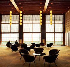 Taniguchi's Okura hotel - Tokyo, i love this hotel, and one fine day I hope to spend the night