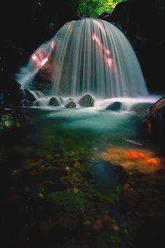 Mikaduki falls 1 photo by Sky-Genta