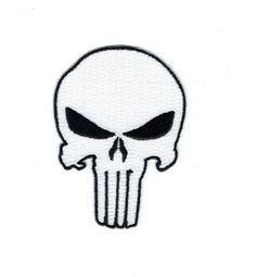 One size fits most Men/'s Superhero Marvel The Punisher  Embroidered Scrub Hat