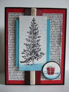 merry christmas  http://www.etsy.com/listing/84669047/handmade-stampin-up-merry-christmas-card