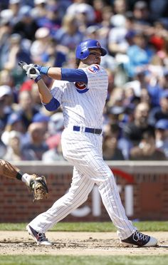 Vote #Cubs third baseman Ian Stewart to the 2012 MLB All-Star Game! Fact: He helped the Cubs win back-to-back home series against the Dodgers and Braves. The third baseman had a pinch-hit single in the ninth inning and came around to score the game-tying run in the Cubs come-from-behind, extra inning over the Dodgers on May 6. Stewart kept up the pace the next day against Atlanta, belting a game-winning solo shot in the fourth inning.