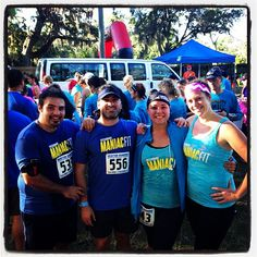 Our Maniacs @sassyjuliaj @Carly Switzer and HR Manager Gabriel participated at the #BlueMoon 5k and Half #Marathon this Sunday VERY WELL DONE!!!  You guys rock!!!