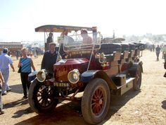 This Stanley steam car has a Charabanc body.