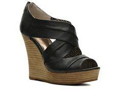 Seychelles No Peeking Wedge Sandal #PintoWin #DSWShoeHookup