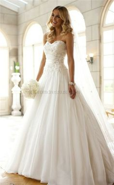 Wedding Dress Dresses Ivory White Gowns Tulle Hair