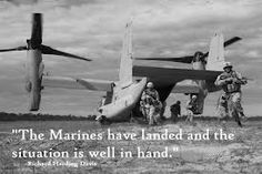 """""""The Marines have landed and the situation is well in hand. Usmc, Marines, 2pac Quotes, Marine Mom, Great Life, Fighter Jets, Wellness, War, Tupac Quotes"""