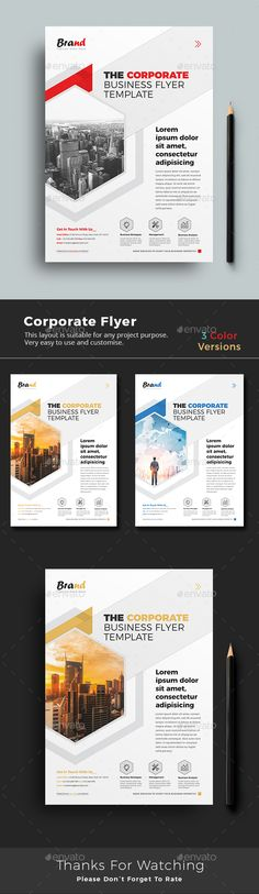 #Corporate #Flyer - Corporate Flyers
