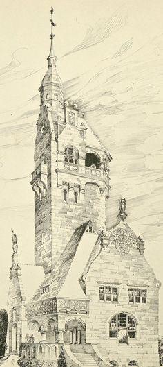 Proposal for a villa, 1901 (unknown architect)