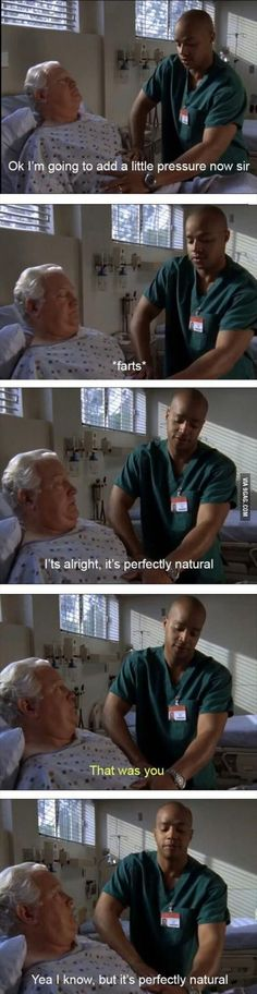 Scrubs: Farting is perfectly natural