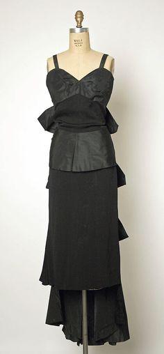 1950, America - Evening dress by Gilbert Adrian - Silk, rayon(?)