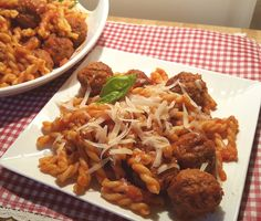 Pressure Cooker Soccer Mom Spaghetti and Meatballs uses frozen meatballs and premade spaghetti sauce, for when you need a super quick meal.