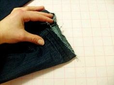 make your jeans longer. this is a thing i need to know how to do.