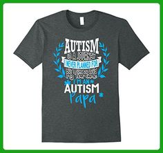 Mens Autism Is A Journey Shirt. Autism Papa Awareness Gifts Small Dark Heather - Relatives and family shirts (*Amazon Partner-Link)