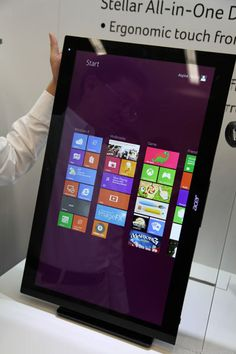 Acer Aspire 7600U and 5600U all-in-one touchscreens