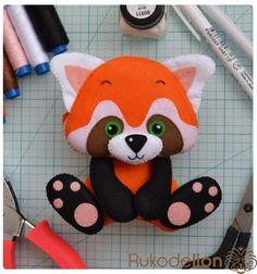 Красная панда - Рукоделион