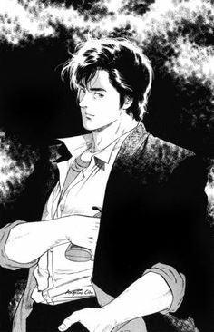 niki larson Manga Art, Manga Anime, Anime Art, Nicki Larson, City hunter, Hunter Anime, Wallpaper Space, Animated Cartoons, Manga Comics