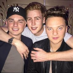Jack and Conor Maynard and Josh Pieters // Awww the roomies