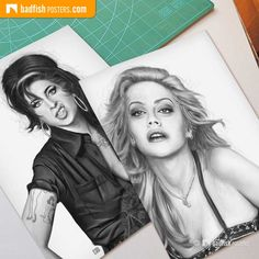 For all admirers of sexy Brittany Murphy and the unforgettable Amy Winehouse. Own these two black and white tribute posters now. Brittany Murphy, Somebody To Love, Love Posters, Poster Poster, Amy Winehouse, Black And White, Celebrities, Sexy, Blog