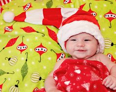 This little one is all set for Christmas! You might be just as happy if you had yourself a Minky.