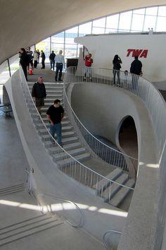 TWA Flight Center, JFK Airport in New York City, 1962   Eero Saarinen & Associates