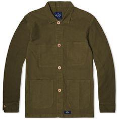 Counter Jacket in Khaki Green)   Bleu de Paname via End. Clothing - $145