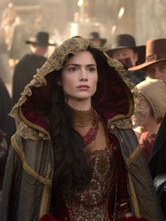 Janet Montgomery as Mary Sibley in Salem (TV Series, 2015). [x]
