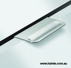 Häfele creates it's furniture handle collection: designs and finished for every taste Furniture Handles, Cabinet Makers, Industrial Furniture, Plastic Cutting Board, Hardware, Kitchen, Collection, Design, Cooking