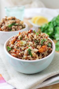 Honey Lemon Quinoa Chicken Salad - Gluten Free