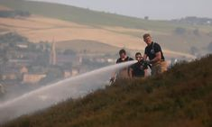Likelihood of 40C temperatures in UK is 'rapidly accelerating' | Environment | The Guardian Flood In Pakistan, Weather Storm, Matter Science, Climate Action, Travel Oklahoma, Greenhouse Gases, Extreme Weather, New York Travel, British History
