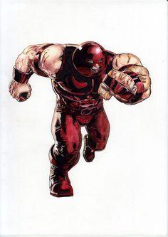Juggernaut (Watercolor) (Acuarela) José Martín