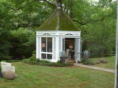 Gazebo-agave  The Peak of Chic®: 2012 Atlanta Decorators' Show House Part II
