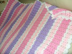 My Pastel Shells Blanket