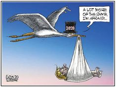 Gallery: Aislin and other editorial cartoonists — January 2020 Opinion Column, I'm Afraid, Mood, Montreal, January, Editorial, Cartoon, Gallery, Movie Posters