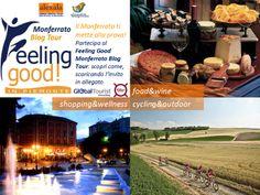 l Blog tour nasce dalla volontà di far sperimentare tutto ciò che è Monferrato ai blogger che saranno coinvolti e a tutto il pubblico che li seguirà nelle loro tappe: cucina tipica, vini doc, distese di colline verdeggianti, percorsi ciclabili, grandi firme, relax e benessere….    Info: http://www.alexala.it/ita/tourist-board/feeling-good-monferrato-blog-tour-2014/c512ef6bfc791dba7e1fdcd29bd0597a.html#post