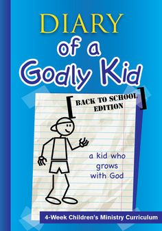 FREE Diary of a Godly Kid Back to School Children's Ministry Lesson by Children's Ministry Deals Bible Lessons, Lessons For Kids, Object Lessons, Childrens Ministry Deals, Children Ministry, Ministry Ideas, Youth Ministry, Love And Forgiveness, Kids Church