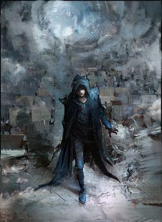 ArtStation - Wizard of the mists speedpaint , Klaus Wittmann