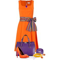 A fashion look from August 2014 featuring RED Valentino dresses, KG Kurt Geiger pumps y Dsquared2 handbags. Browse and shop related looks.