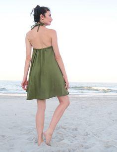 f92d6292b1 Adjustable Strap Built-in Bra Wanderer Short Dress
