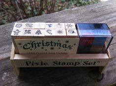$.99 small rubber stamp set