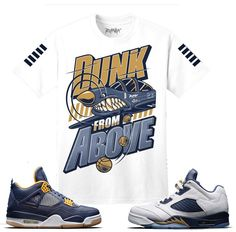 Jordan 5 Dunk From Above Shirt - Dunk From Above - White
