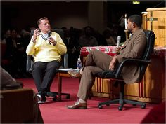 Pastor Moss Interview with Father Pfleger