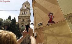 La Junta 'condena' a la mitad de las obras de arte de Invader en Málaga
