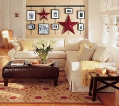 Love these comfy looking couches, need to make sure we get child proof material and colors...Like the L-shape