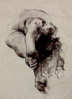 Estudio de figura humana. #Dibujo de Ricardo Woo.