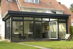Bekijk de realisaties van Bruvo, specialist in aluminium veranda's, en laat je inspireren. #ContemporaryBathroomPlans